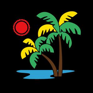 ハワイイラスト