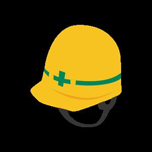 安全ヘルメット イラスト