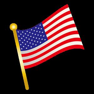 アメリカ国旗 イラスト