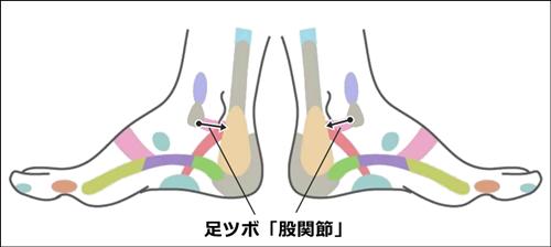 足ツボ股関節