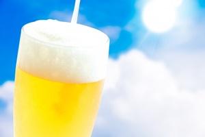 太陽とビール