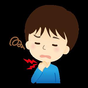 喉の不調イイラスト