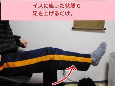 膝を鍛える運動の方法