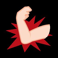 肘の痛みイラスト
