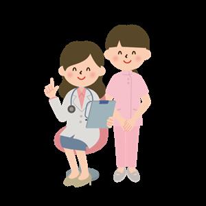 女医と助手