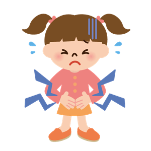 女の子 下痢