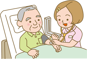 血圧測定イラスト