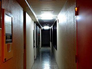 マンションのドア