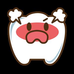 歯の痛みイラスト