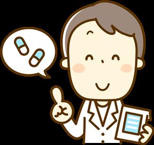 薬を処方する医師