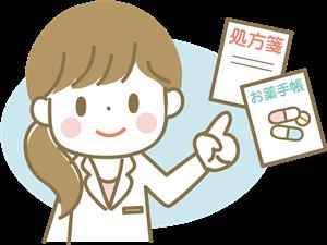 処方する女医