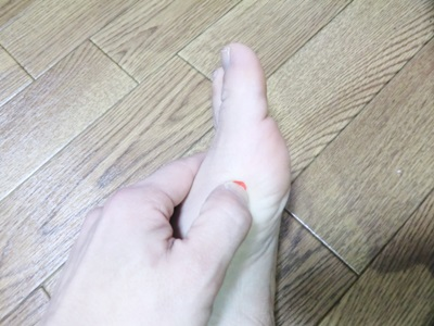 ツボ 太白の指圧方法