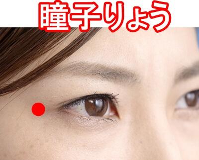瞳子髎のツボ