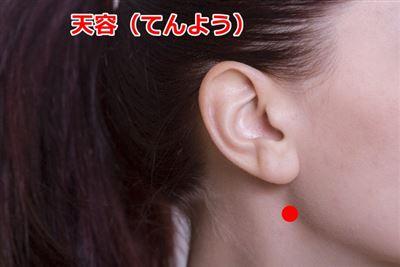 顎関節症のツボ天容