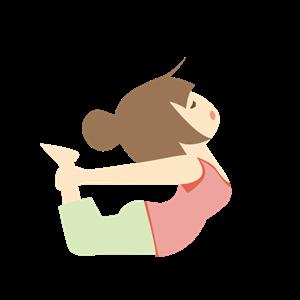 腰のストレッチ