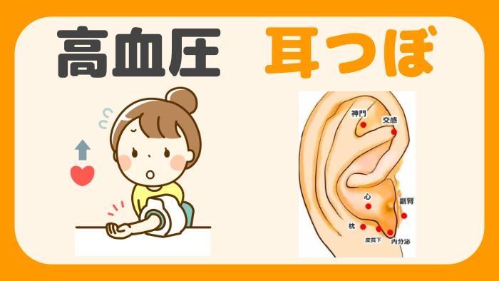 高血圧 耳つぼ