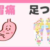 胃痛 足つぼ