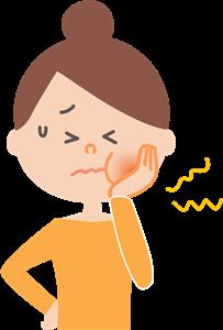 歯ぐきの痛みのツボ