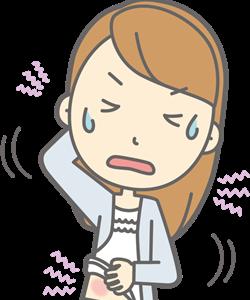 神経皮膚炎のツボ