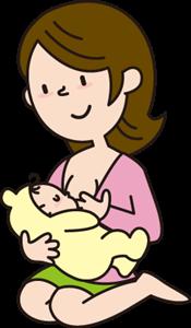 母乳が出ないときによく出るようになるツボ
