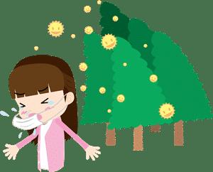 花粉症のツボ!つらい鼻水・目のかゆみ・くしゃみに効くツボ!