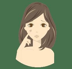 肝斑のツボ