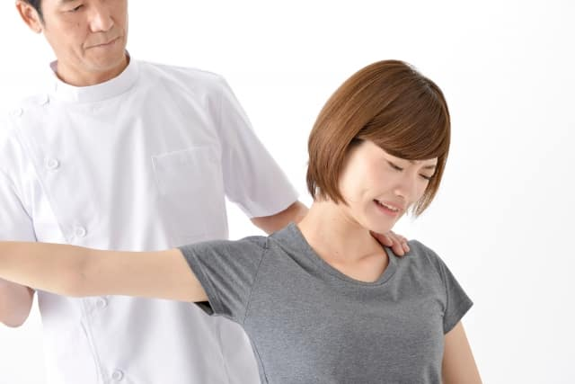 肩の検査 整体師