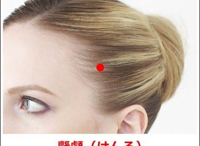 片頭痛のツボ