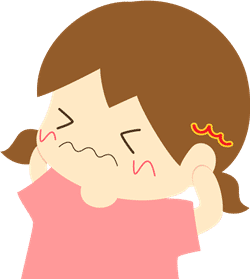 急性中耳炎のツボ