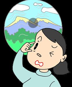 中心性網膜炎のツボ